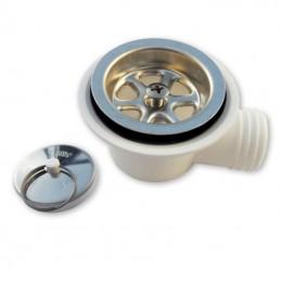 Bicha Chuveiro Metal 150mm - 1/2-1/2